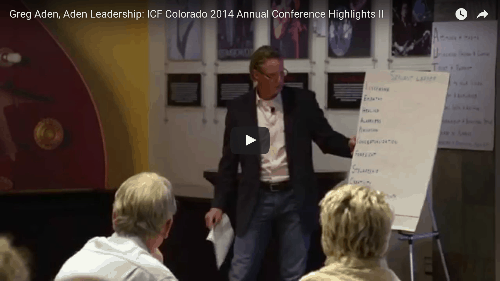 [VIDEO] ICF Colorado 2014 Annual Fall Conference: Unleashing the Authentic Leader Within
