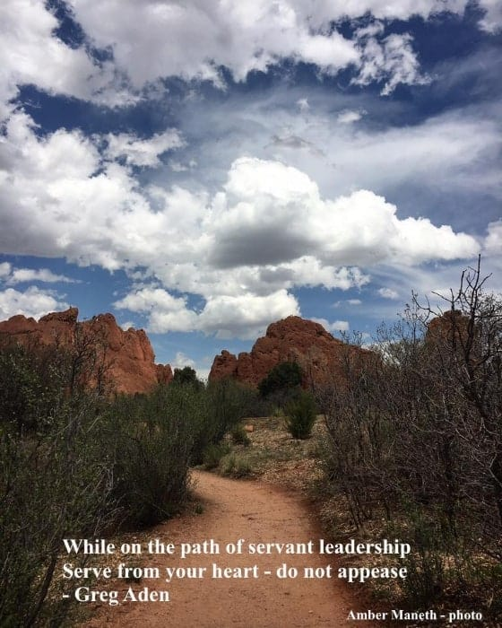 Appeasing vs Serving